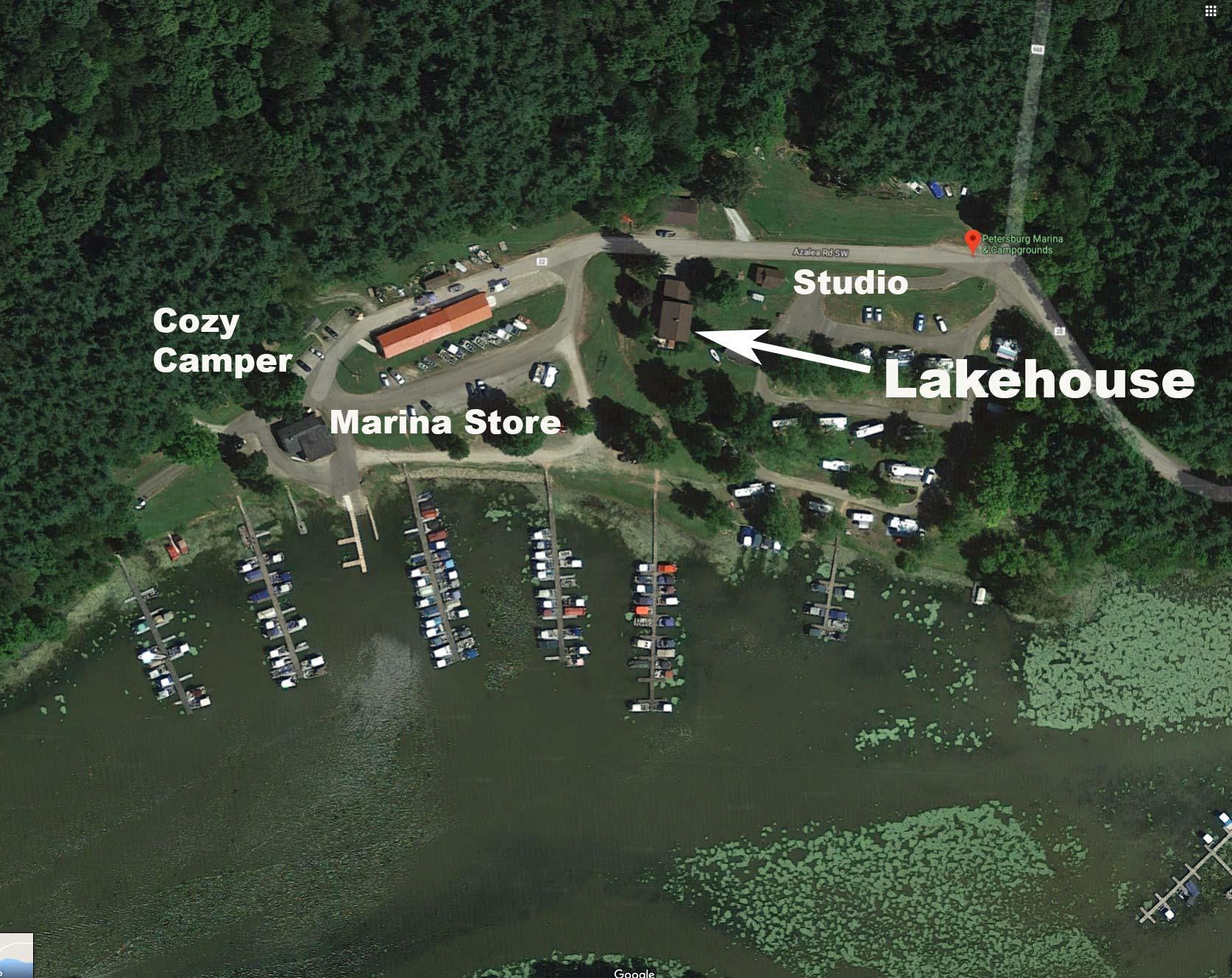 Cozy Ohio rental cabins, remote fishing cabins, family fun
